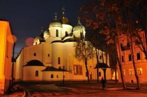 Софийский собор вечером