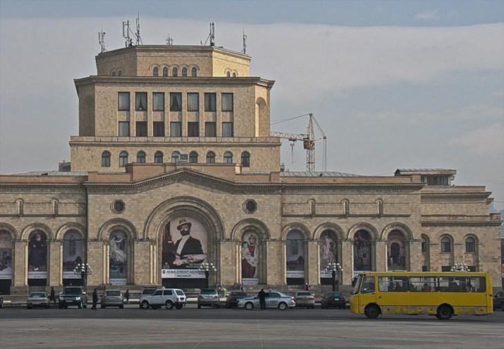 Площадь Республики. Ереван, Армения