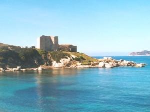 Крепость в Вилласимиусе, Сардиния