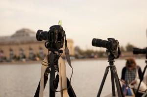 Фотографирование заката