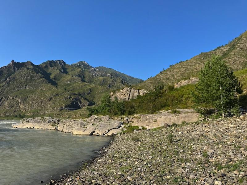 Путешествие на Алтай. Чемальский тракт