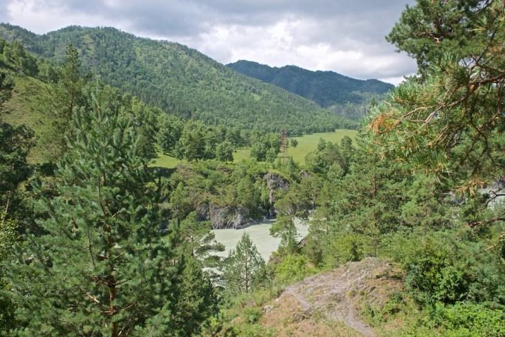 Путешествие на Алтай. Чемал и остров Патмос