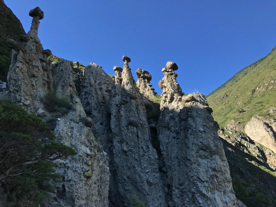 Горный Алтай, Каменные грибы