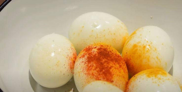 curried eggs boiled eggs with spices