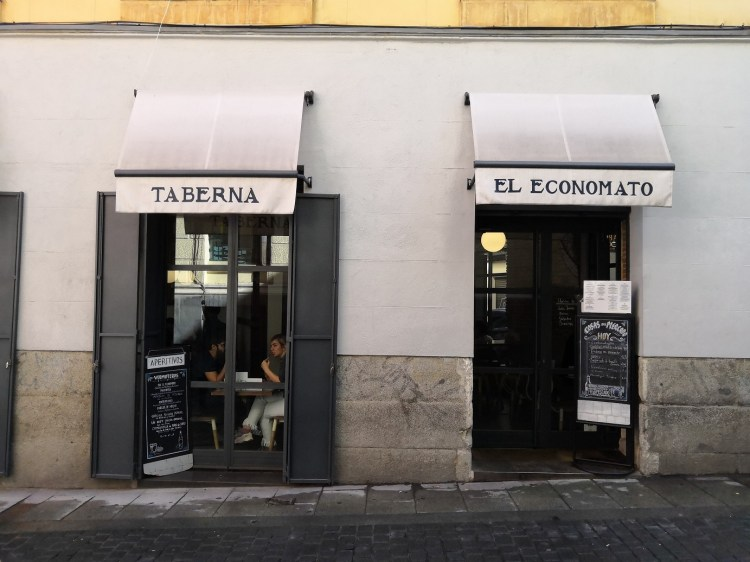 Taberna El Economato Enjoying Madrid