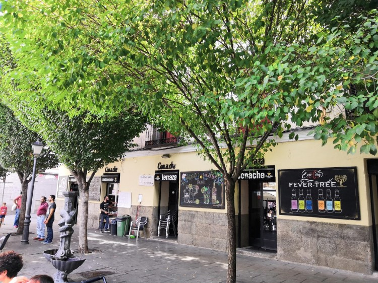Restaurante Conache Enjoying Madrid