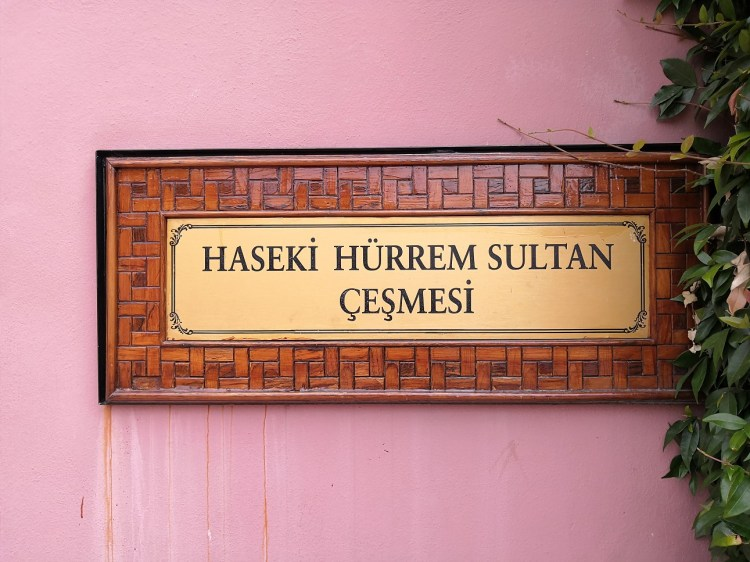 Haseki Hürrem Sultan Fountain - Sultanate of Women