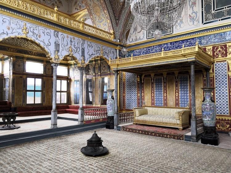 Imperial Hall - Harem Topkapi Palace