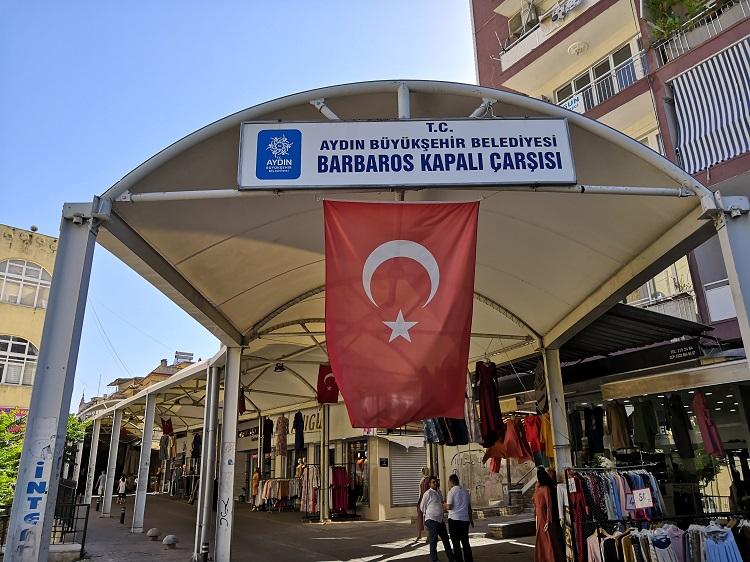 Barbaros Kapali Market - Aydin