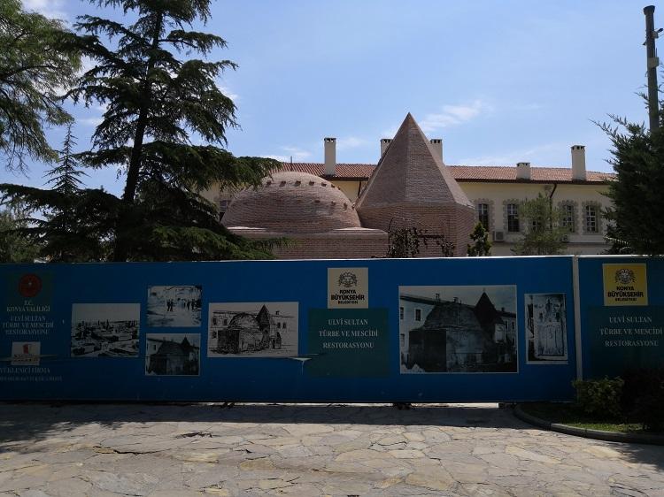 Ulvi Sultan Mosque and Tomb - Seljuk Konya
