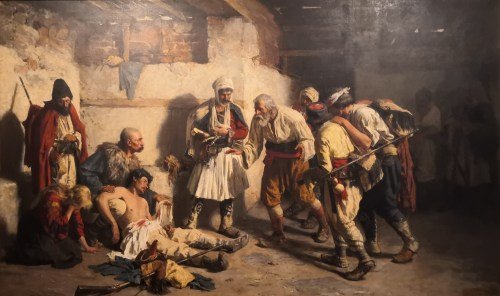 Serbian 19th Century Painting in Matica Srpska Gallery – Novi Sad