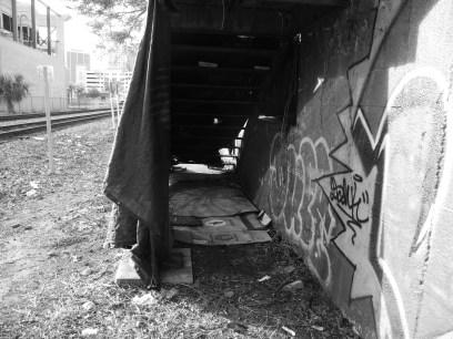sleeping by the tracks