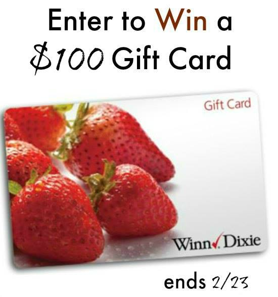 Winn dixie gift card