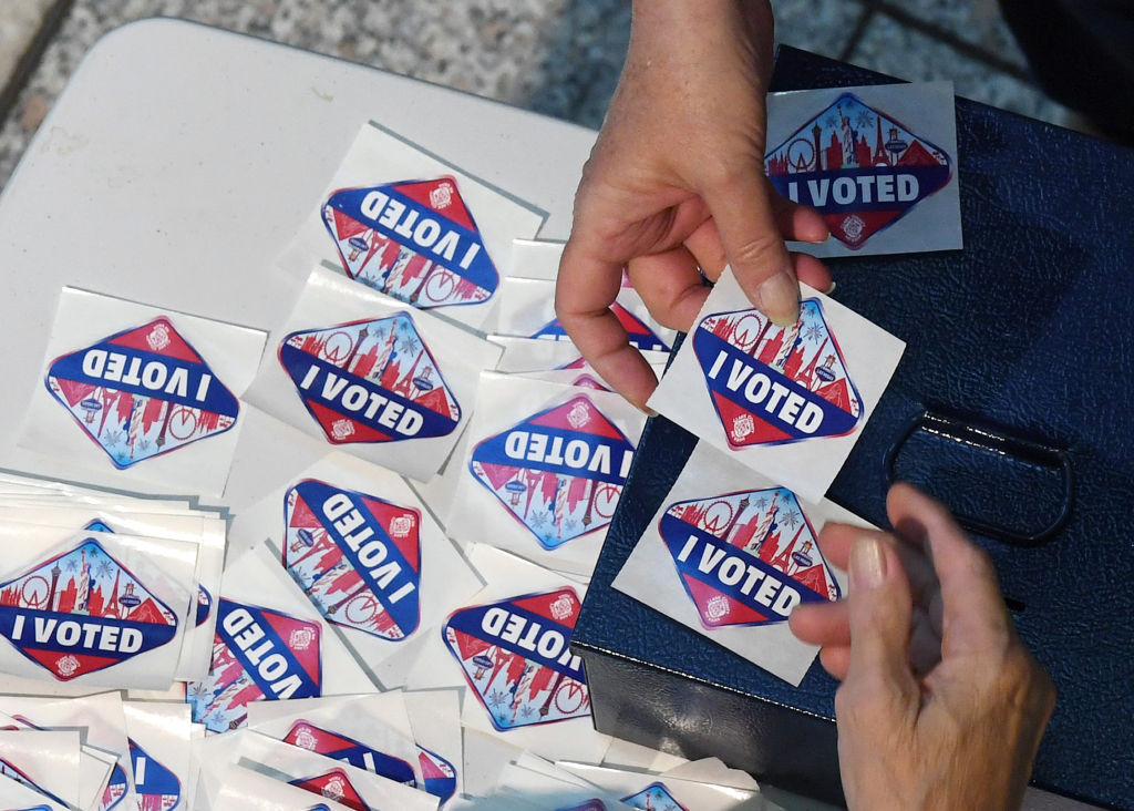 Voting (Photo by Ethan Miller/Getty Images)