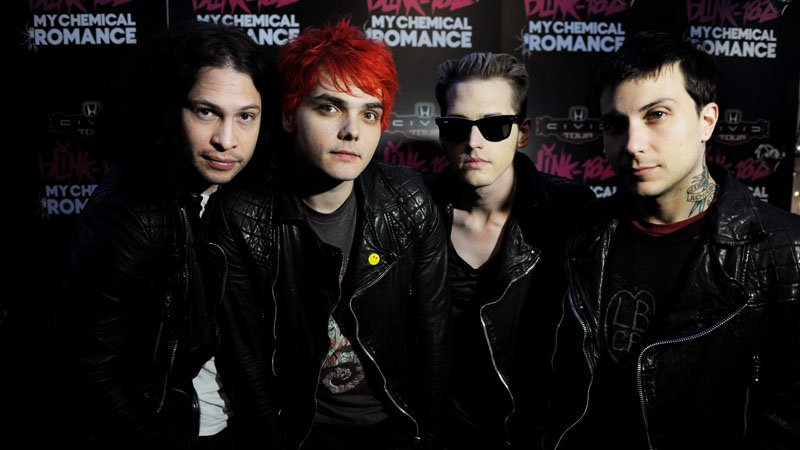 My Chemical Romance in 2011 (Photo by Kevin Winter/Getty Images)