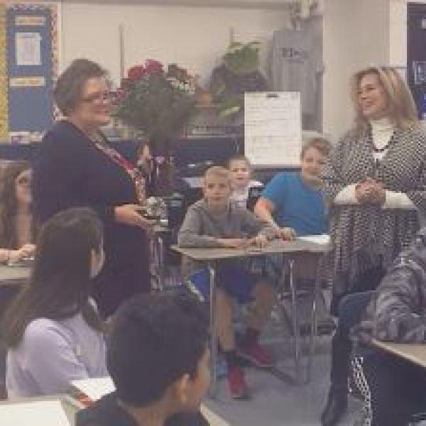 Educator of the Week: Sandra Johnson