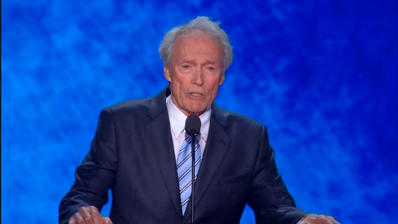 Clint Eastwood praises Bloomberg, criticizes Trump