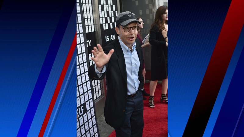 """NEW YORK, NY - APRIL 12: Rick Moranis attends """"In &; Of Itself"""" Opening Night - Arrivals at Daryl Roth Theatre on April 12, 2017 in New York City. (Photo by Theo Wargo/Getty Images)"""