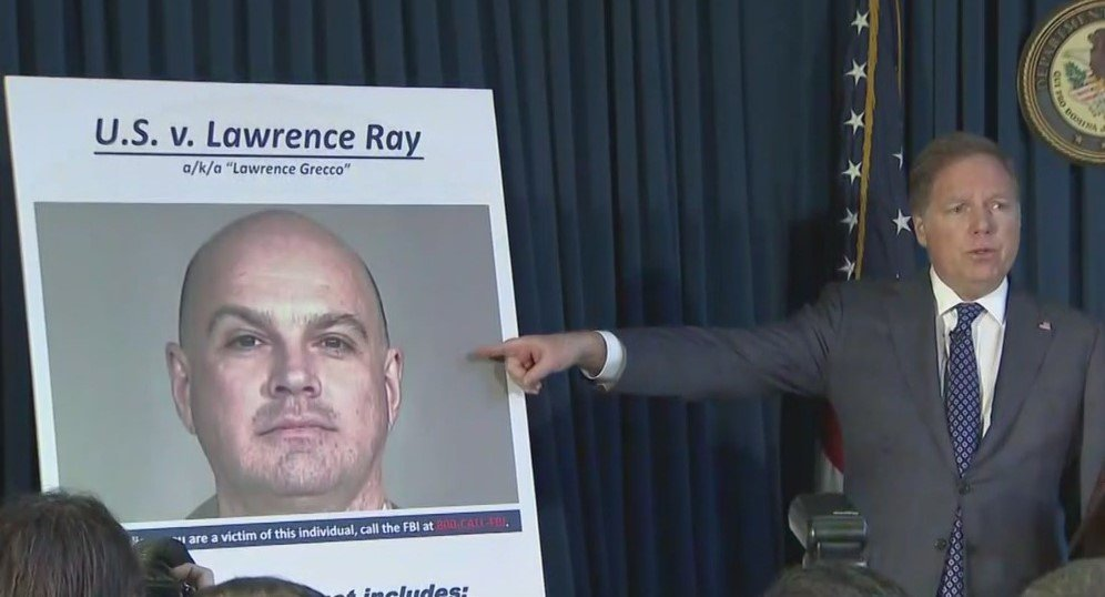 Lawrence Ray is accused of extorting and abusing several students at Sarah Lawrence College.