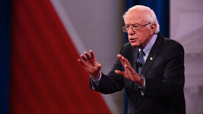Bernie Sanders (Will Lanzoni/CNN)