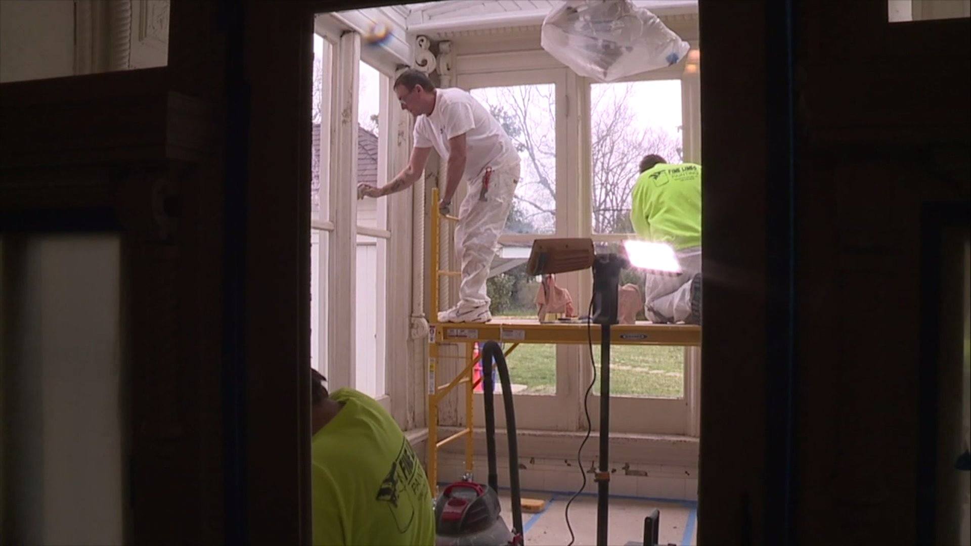 Repairs being made after years of water damage at Korner`s Folly