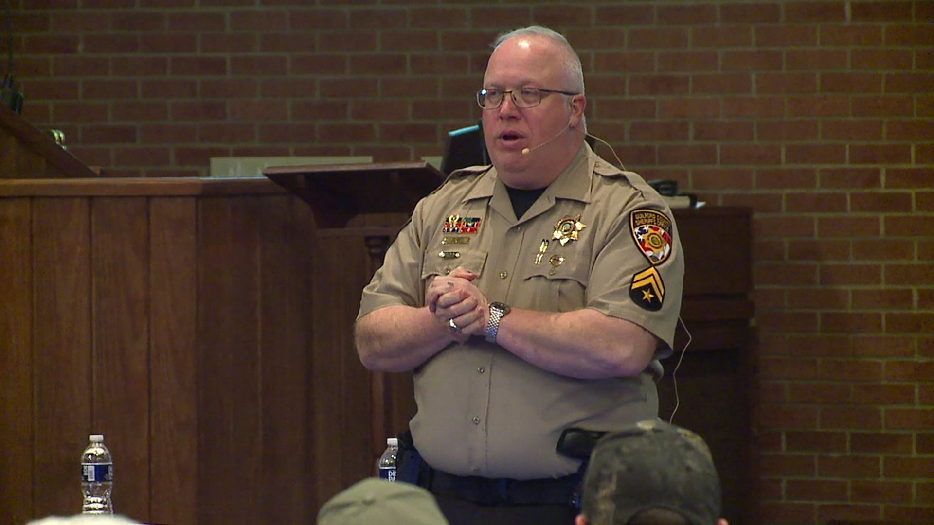 Local law enforcement agencies work to connect with community members