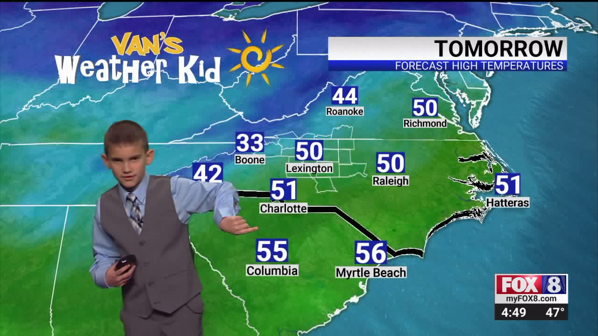 Van's Weather Kids: Alex Blackwelder