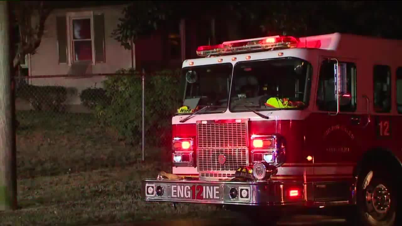 House fire in Winston-Salem displaces 4