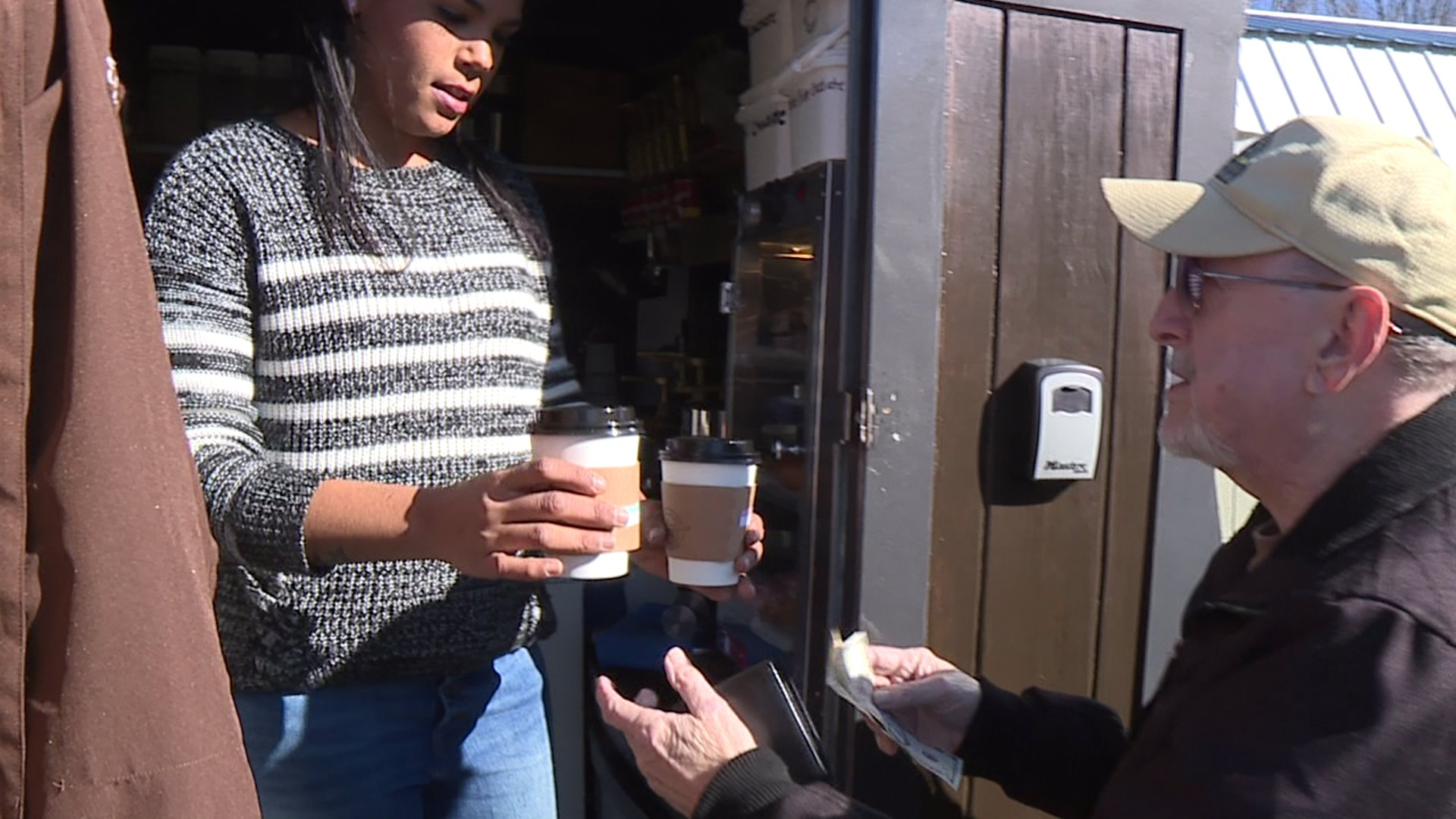 Davidson County woman provides pick-me-up for community with her mobile coffee bar