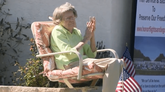 Community throws surprise parade for 104-year-old veteran to celebrate her birthday despite coronavirus restrictions