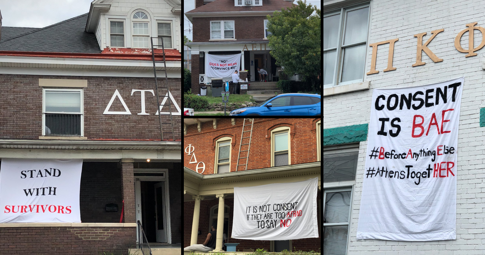Students, Greek chapters push back against sexual assault in