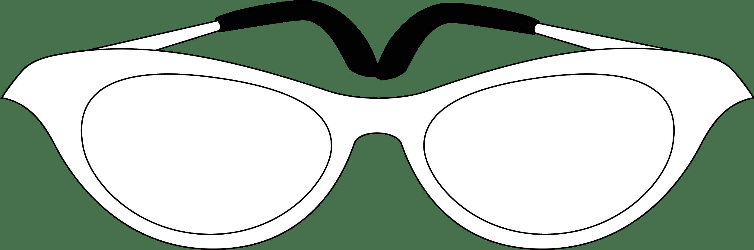 Female Glasses PNG