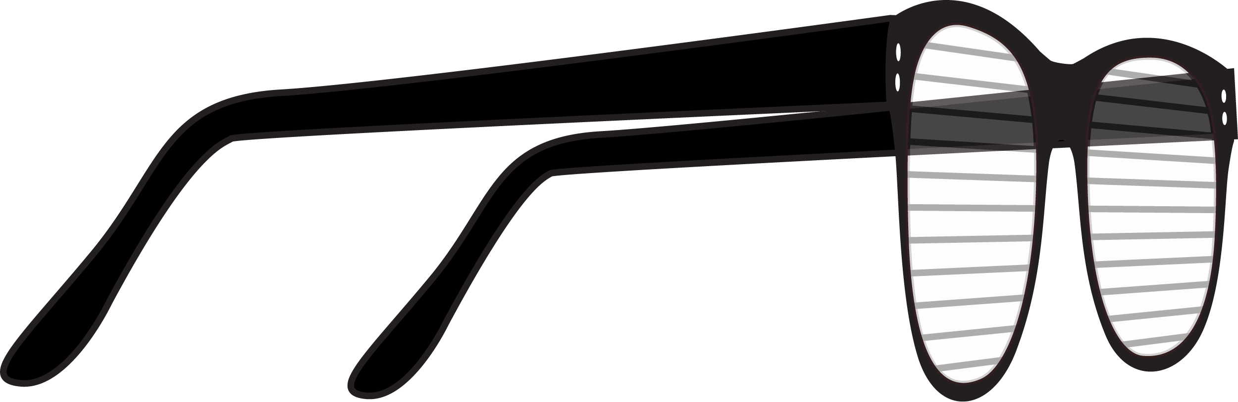 Glasses PNG Side view Clip-art