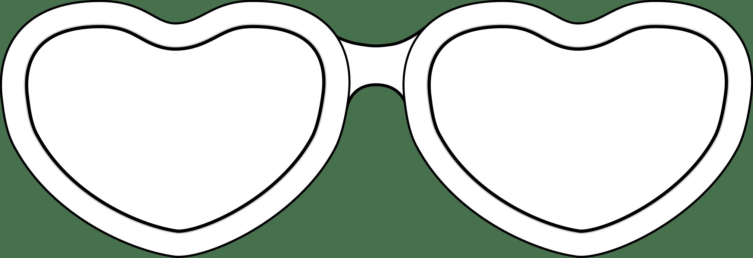Heart Shaped Glasses PNG 56