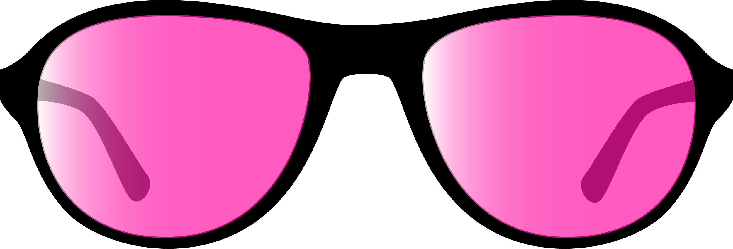 Pink Glasses PNG 65
