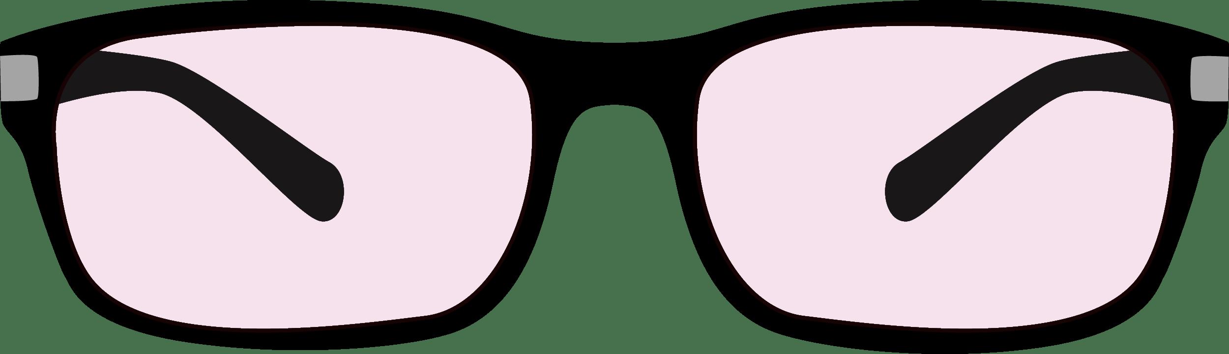 Simple Glasses Clip-art PNG