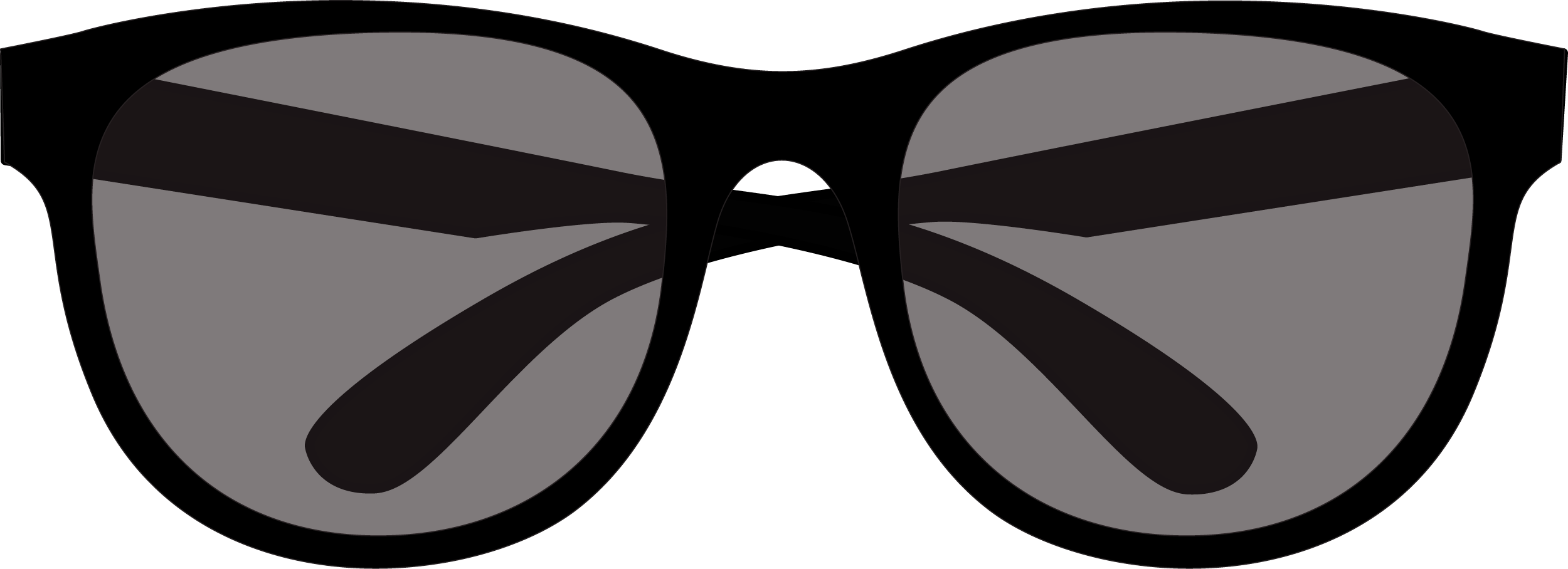Square Glasses PNG