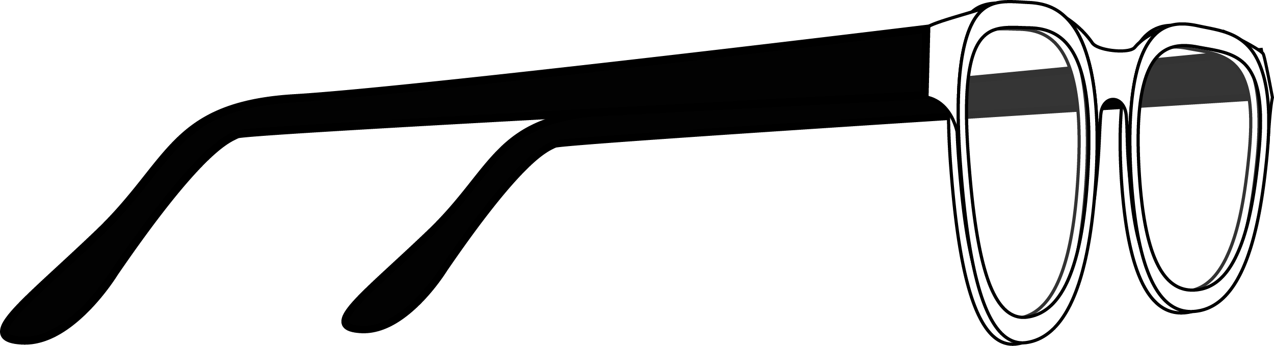 SunGlasses Sideview PNG