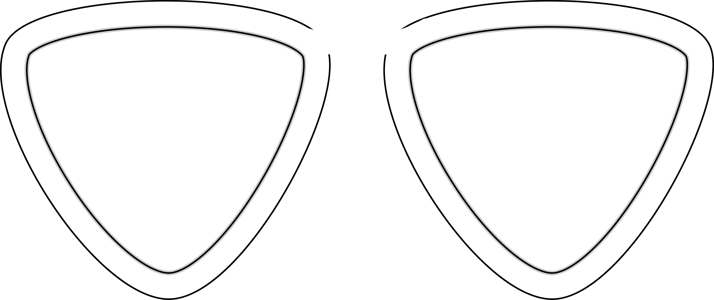 Triangle Glasses PNG