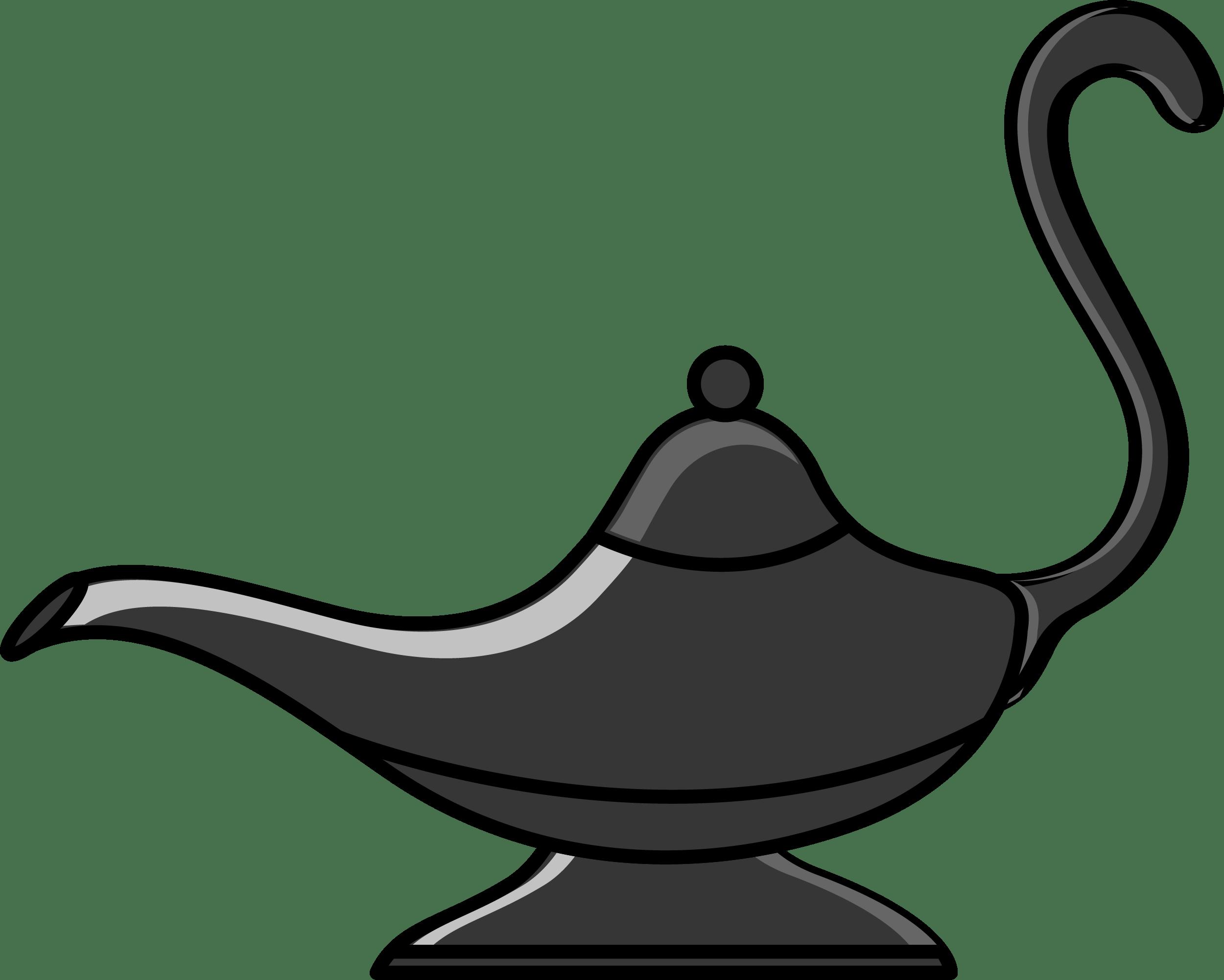 Magic Lamp Clip-art