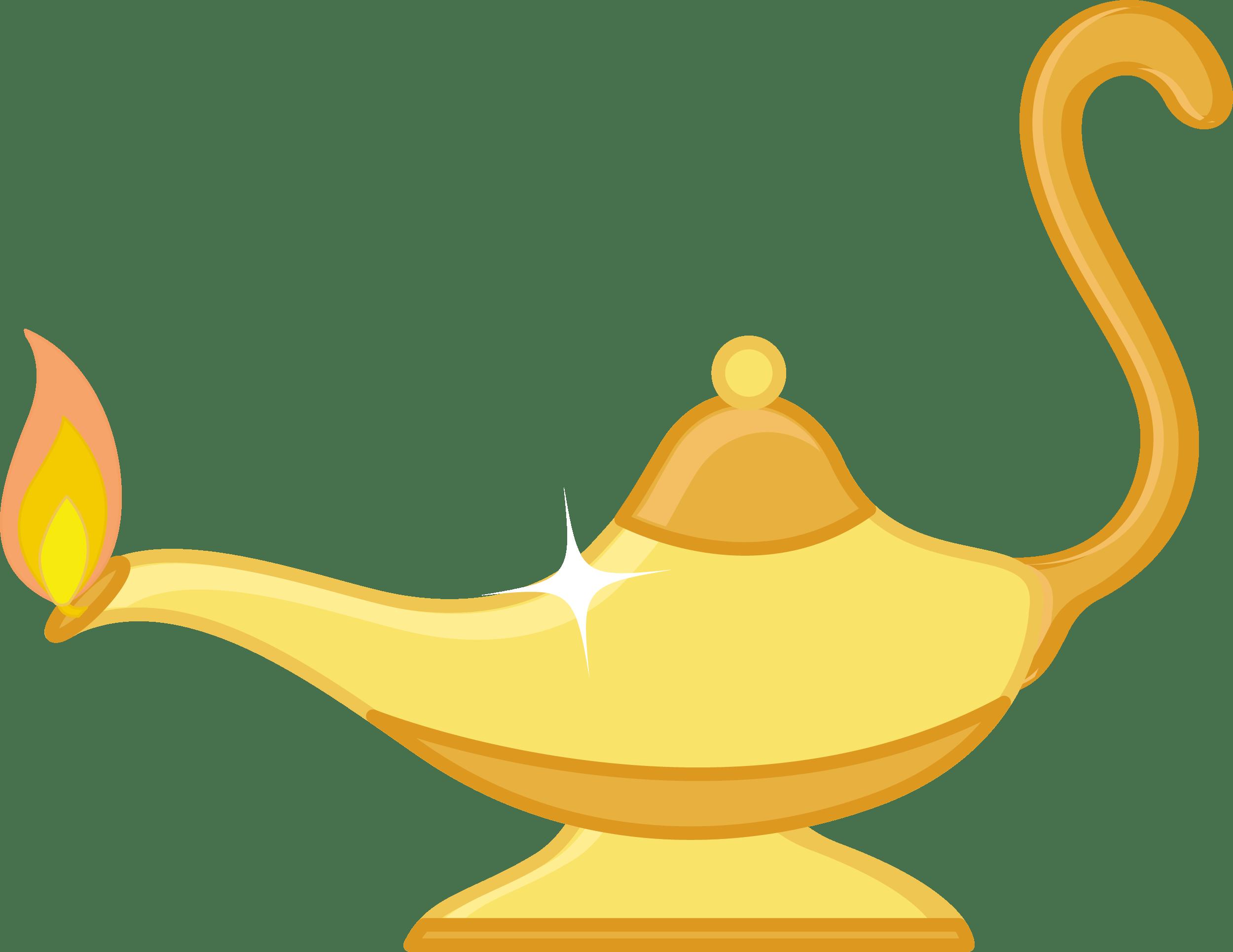 Shiny Magic Lamp Clip-art