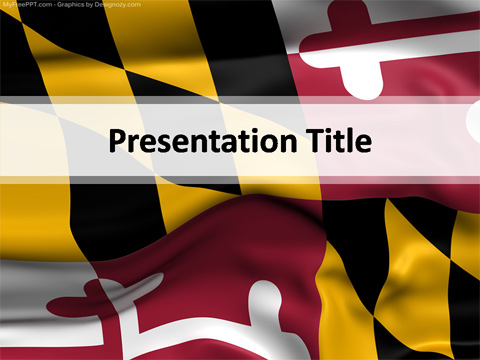 Maryland Powerpoint Template Download Free Powerpoint Ppt