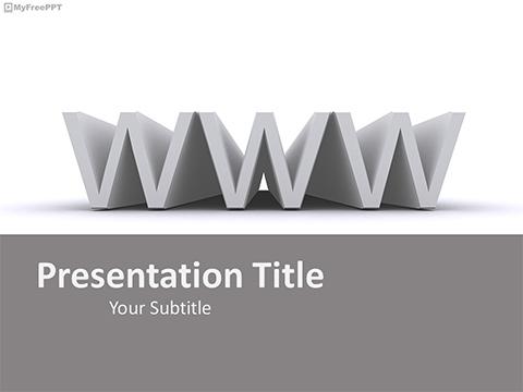 WWW PowerPoint Template