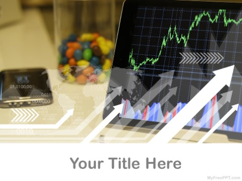 Free Analytics Graph PPT Template