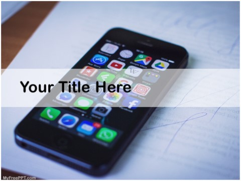 Free Android Apps PPT Template