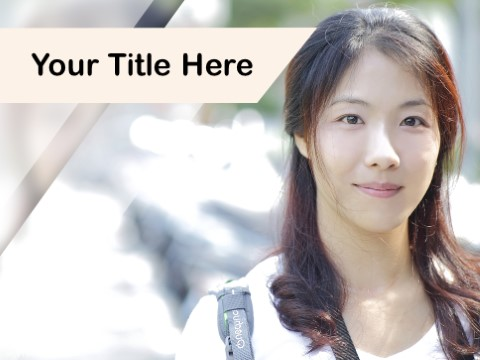 Free Asian People PPT Template