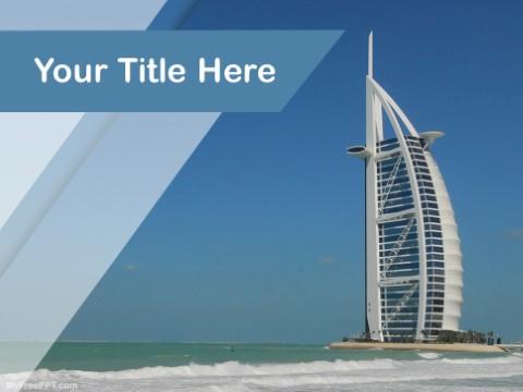 Free Burj Al Arab PPT Template