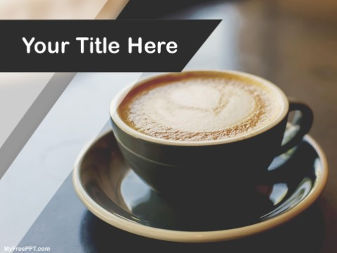 Free Cappuccino PPT Template