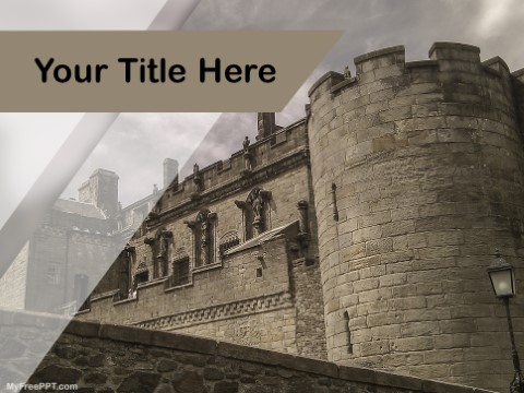 Free Castle PPT Template