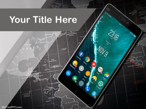 Free Cellular Roaming PPT Template